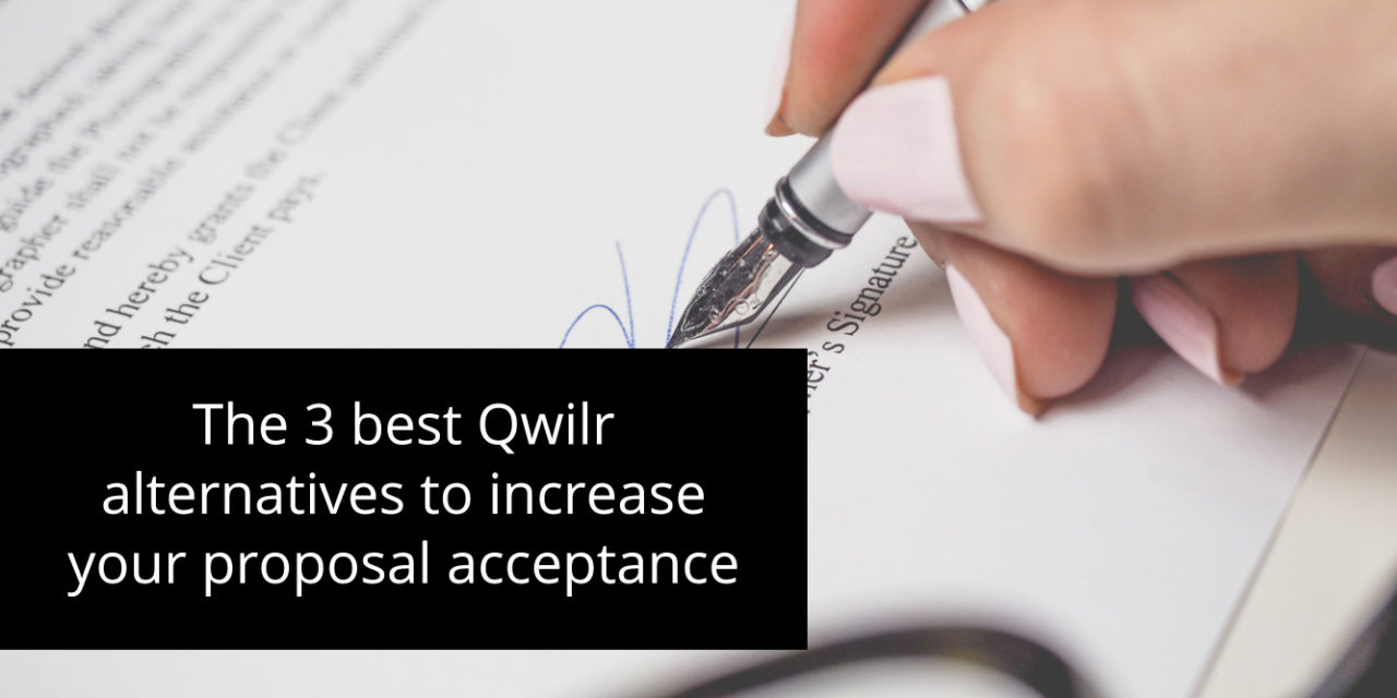 The 3 best Qwilr alternatives to increase your proposal acceptance