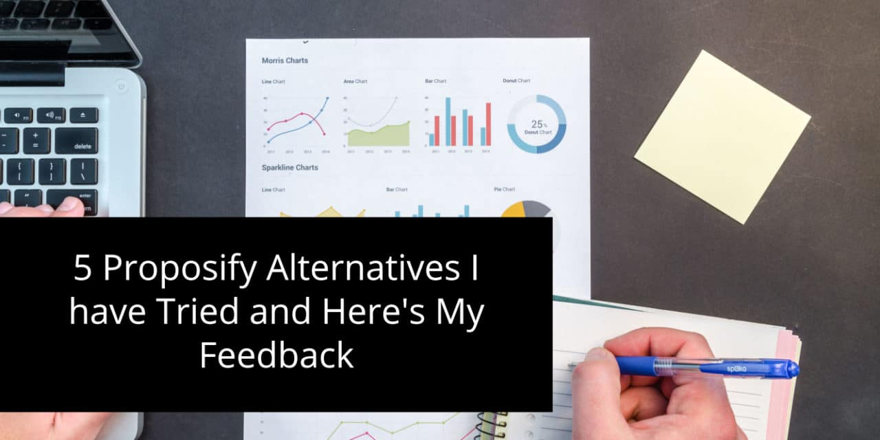5 Proposify Alternatives I have Tried and Here's My Feedback