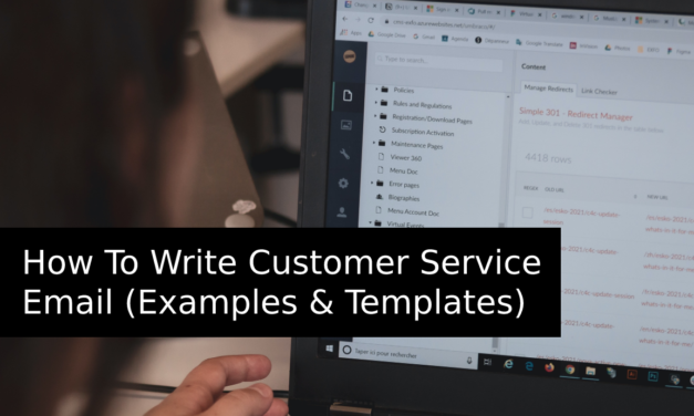 How To Write Customer Service Email (Examples & Templates)
