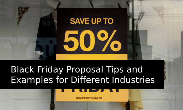 Black Friday Proposal Tips and Examples for Different Industries